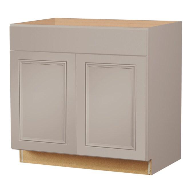 Cloud Sink Base Stock Cabinet, 60 Inch Kitchen Sink Base Cabinet