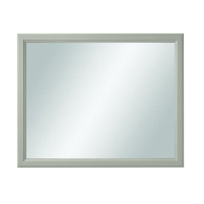 Calhoun 42 In Cloud Gray Rectangular Bathroom Mirror