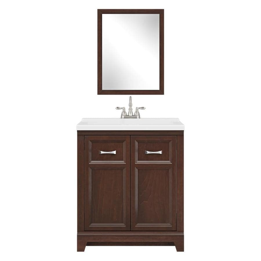 Style Selections Espresso Single Sink Vanity