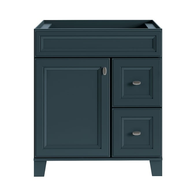 Diamond Now Goslin 30 In Maritime Bathroom Vanity Cabinet In The Bathroom Vanities Without Tops Department At Lowes Com