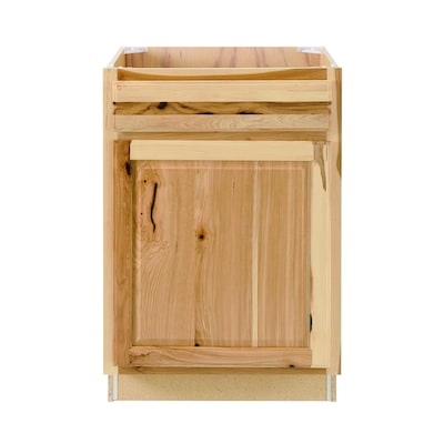 Diamond Now Denver 24 In Natural Hickory Bathroom Vanity Cabinet In The Bathroom Vanities Without Tops Department At Lowes Com