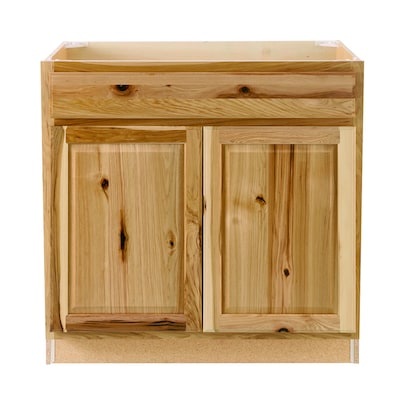 Diamond Now Denver 36 In Natural Hickory Bathroom Vanity Cabinet In The Bathroom Vanities Without Tops Department At Lowes Com