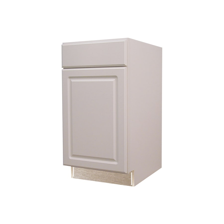 Superieur Diamond NOW Concord 18 In W X 35 In H X 23.75 In D White Door And Drawer  Base Stock Cabinet