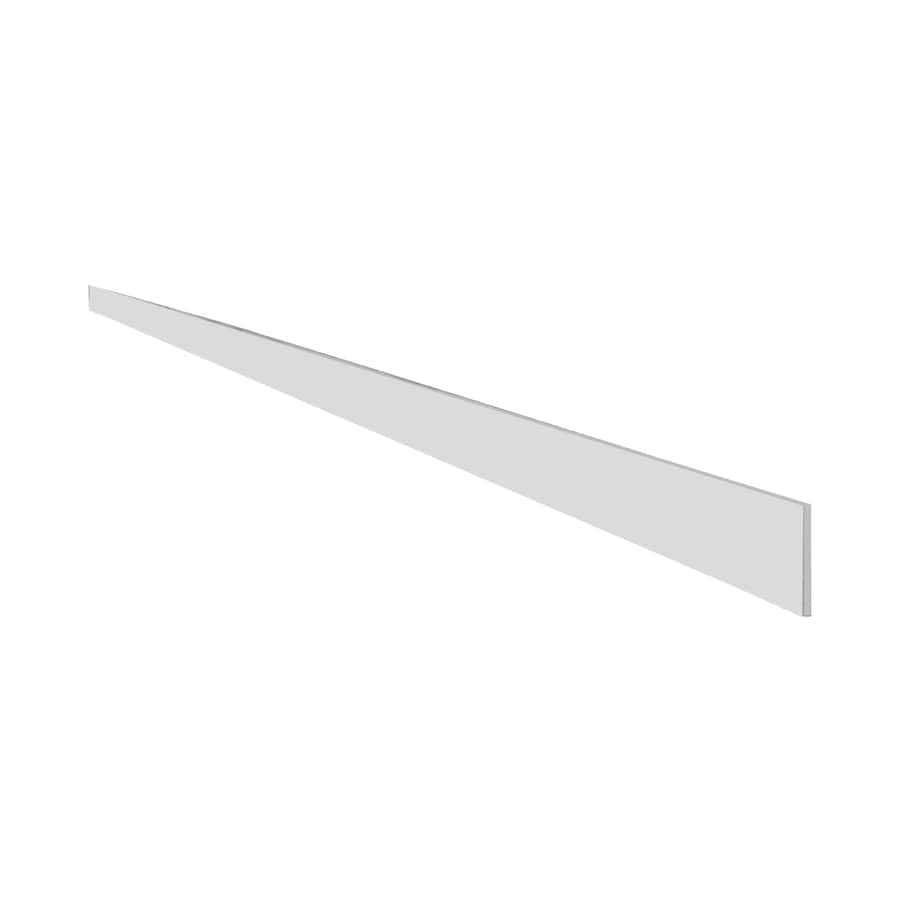 Cabinet Kick Plate Shop Diamond Now Concord 96 In X 4 In White Cabinet Toe Kick At