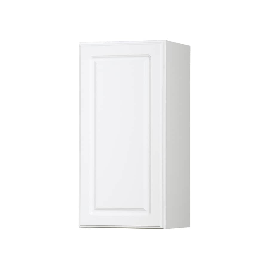 Diamond NOW Concord 15-in W x 30-in H x 12-in D White Door Wall Cabinet