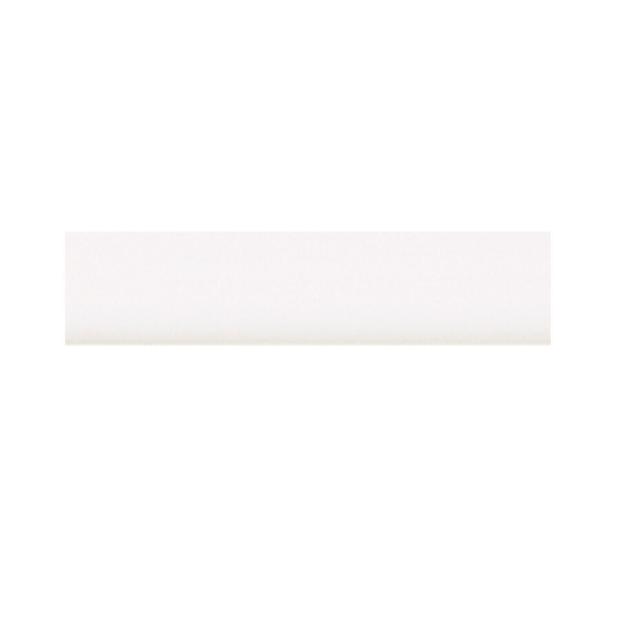 Diamond NOW Concord 96-in W x 0.75-in H x 0.25-in D White Cabinet Scribe Rail