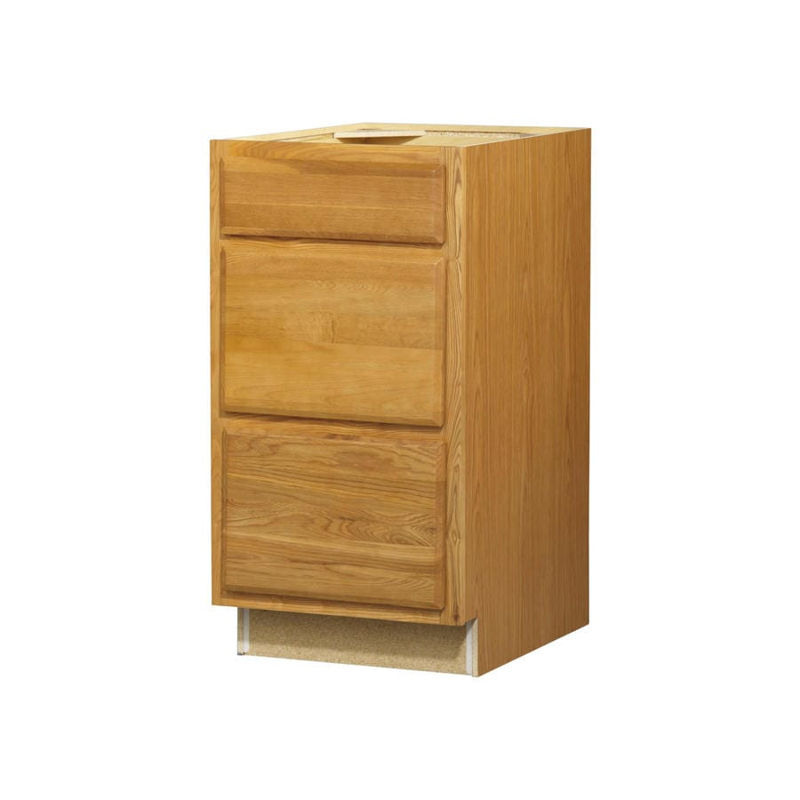 Kitchen Classics Portland 18-in W x 35-in H x 23.75-in D Wheat Drawer Base Cabinet