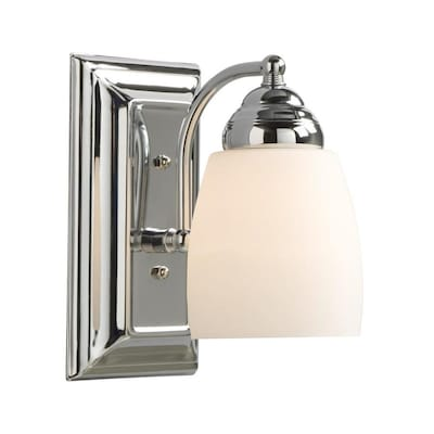 Barclay 4 5 In W 1 Light Polished Chrome Transitional Wall Sconce