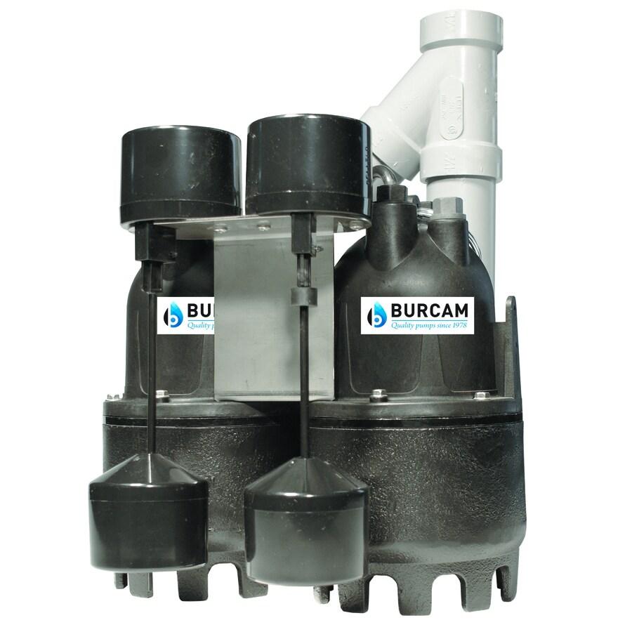 BUR-CAM 0.33-HP Cast Iron Submersible Sump Pump