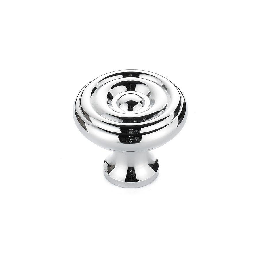 Richelieu Chrome Round Cabinet Knob