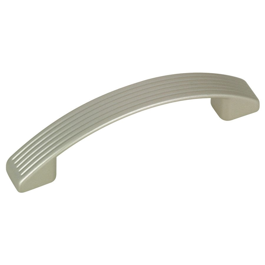 Richelieu 3-7/9-in Center-To-Center Metallic Nickel Arched Cabinet Pull