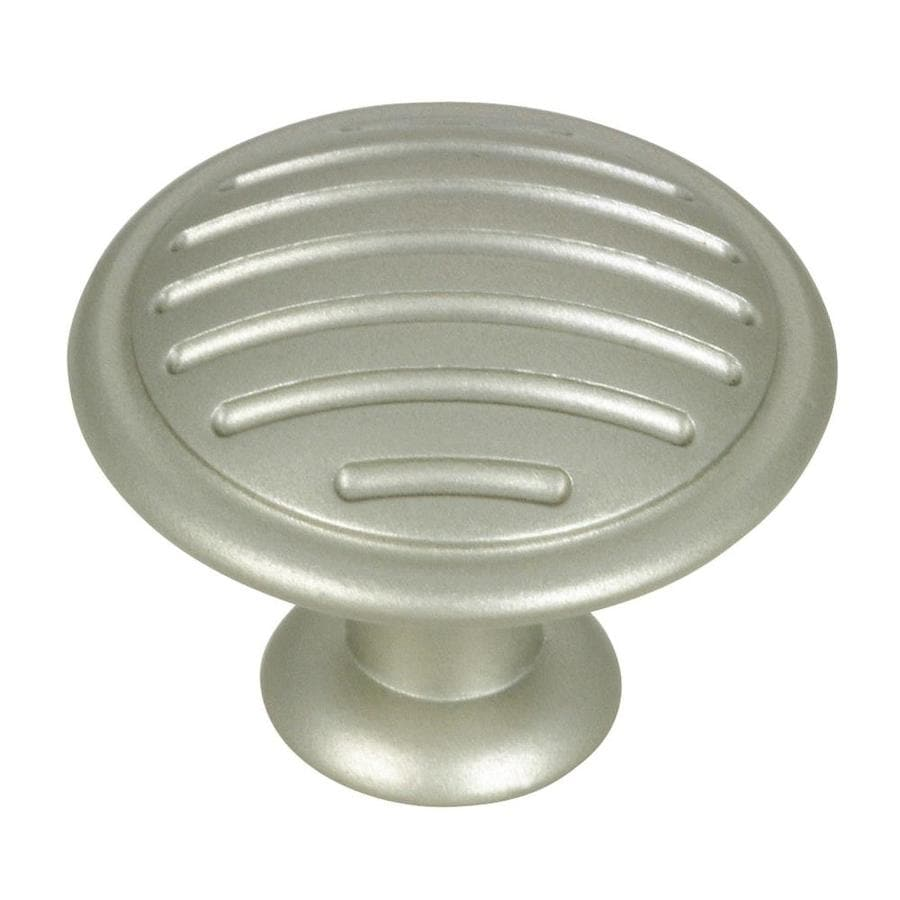 Richelieu Metallic Nickel Round Cabinet Knob