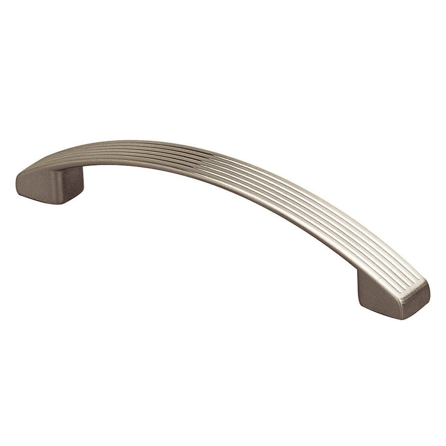 Richelieu 3-3/4-in Center-to-Center Metallic Nickel Cabinet Pull