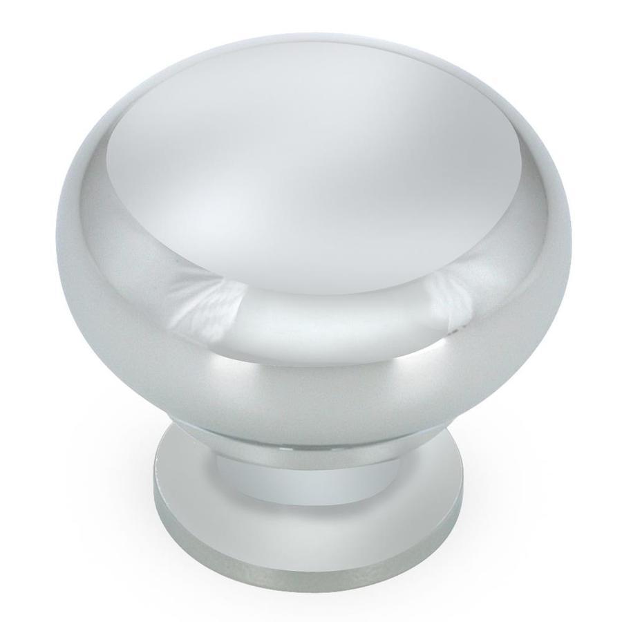 Richelieu Matte Chrome Mushroom Cabinet Knob