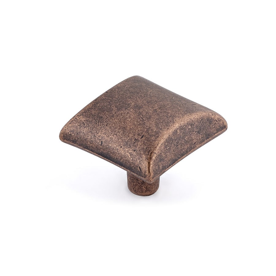 Richelieu Antique Copper Square Cabinet Knob