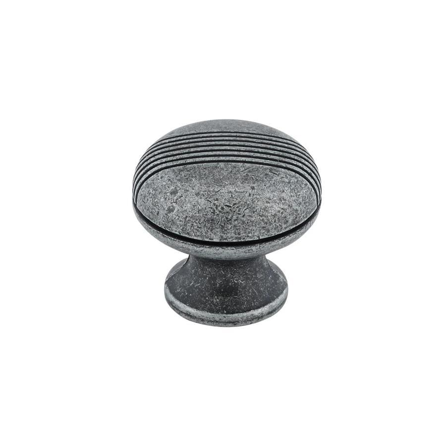 Richelieu Antique Iron Round Cabinet Knob