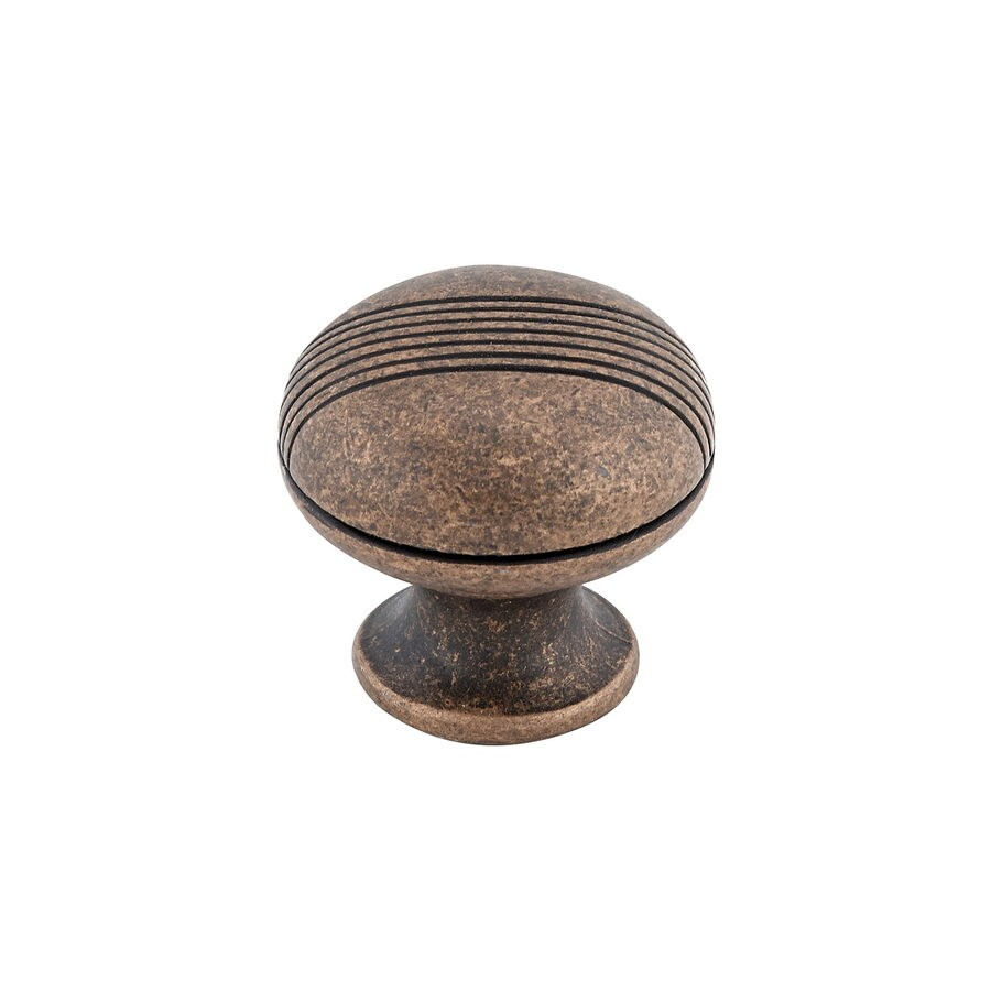 Richelieu Antique Copper Round Cabinet Knob