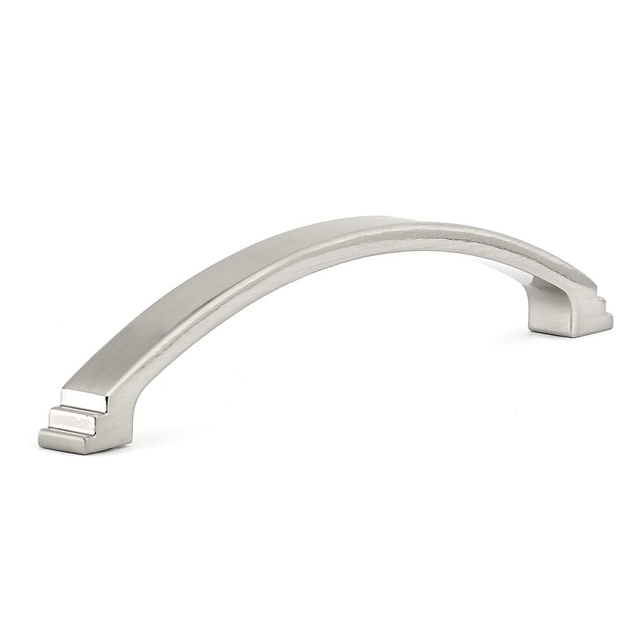 Richelieu 3-7/9-in Center-To-Center Brushed Nickel Arched Cabinet Pull