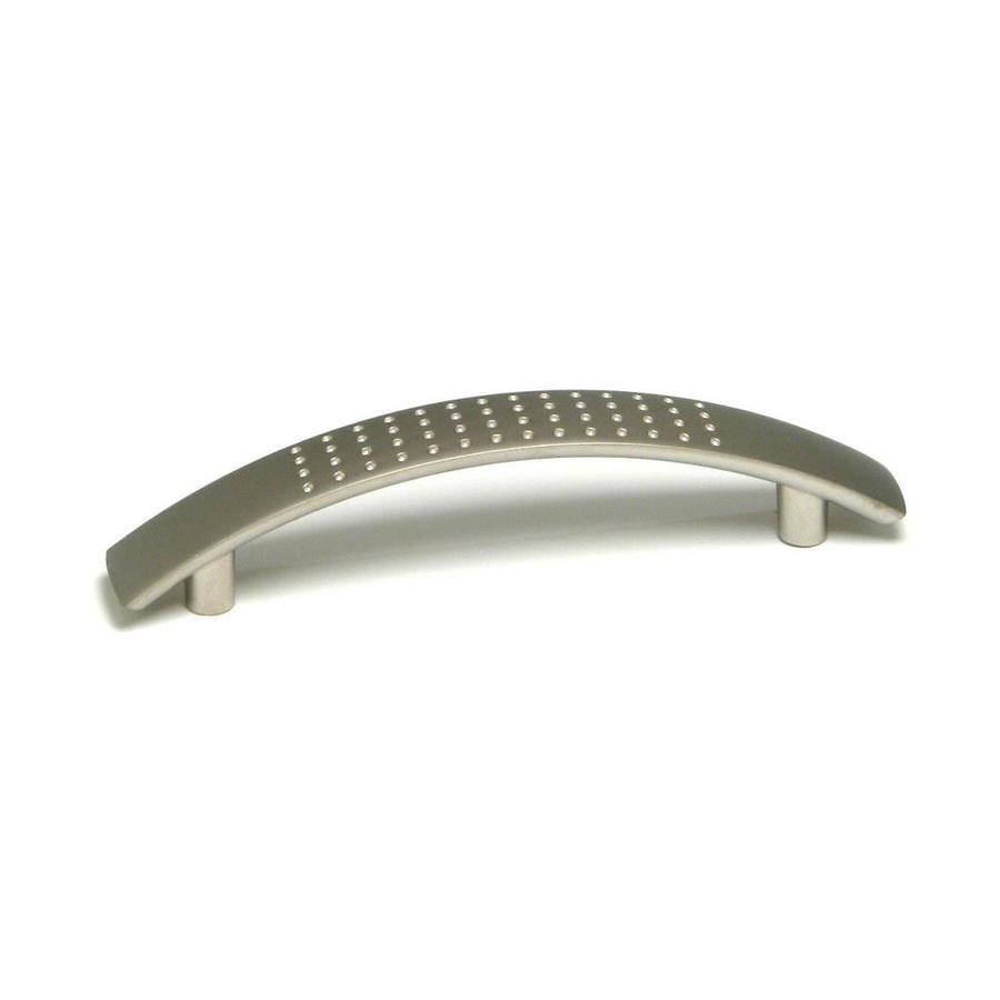 Richelieu 3-7/9-in Center-To-Center Matte Nickel Arched Cabinet Pull