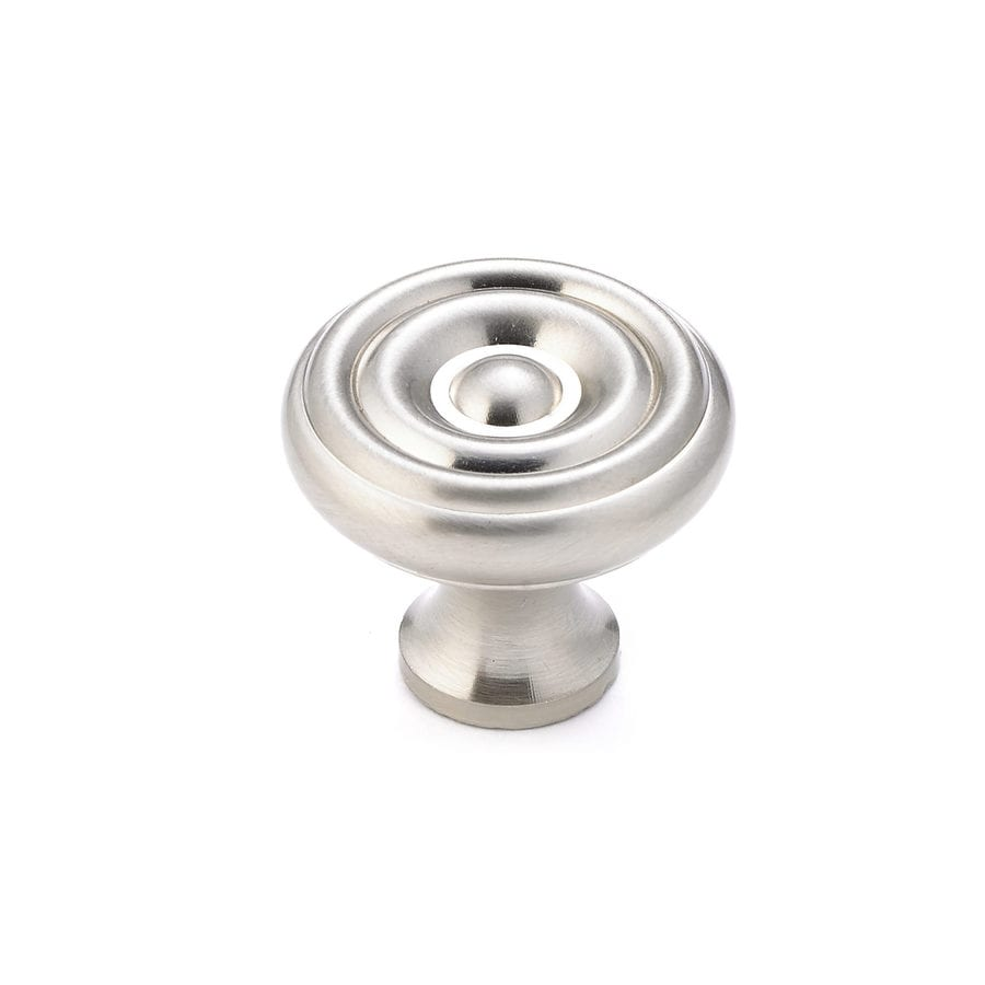Shop Richelieu Brushed Nickel Round Cabinet Knob At Lowes Com