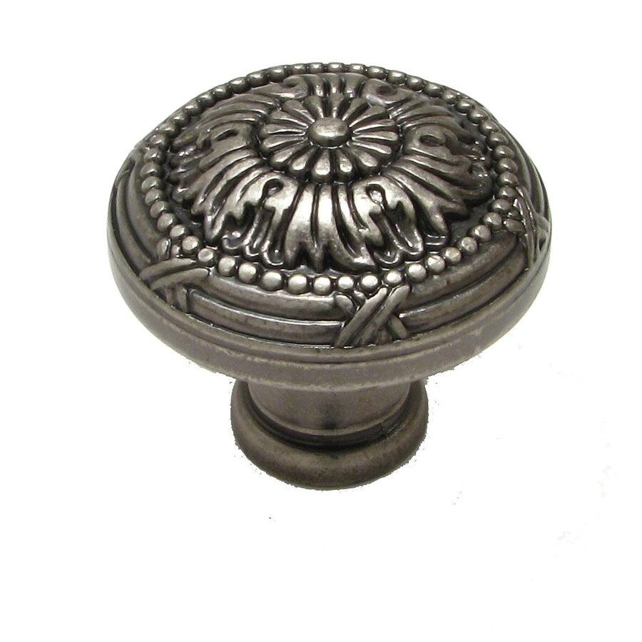 Richelieu Knob Metal 32mm dia. (8/32) Pewter