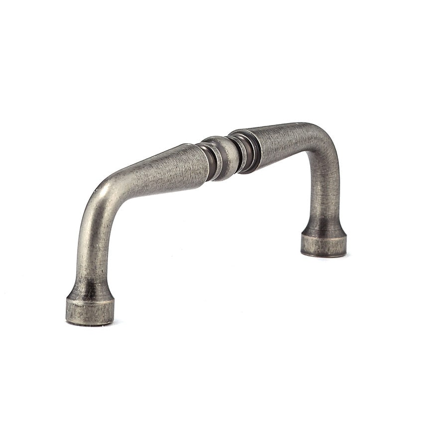 Richelieu 3-1/2-in Center-To-Center Pewter Arched Cabinet Pull