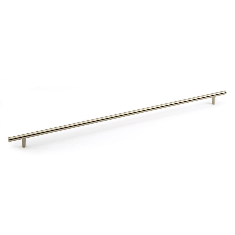Richelieu Center-To-Center Brushed Nickel Bar Cabinet Pull