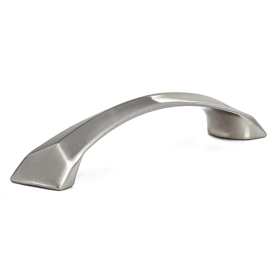 Richelieu 5-in Center-To-Center Brushed Nickel Arched Cabinet Pull
