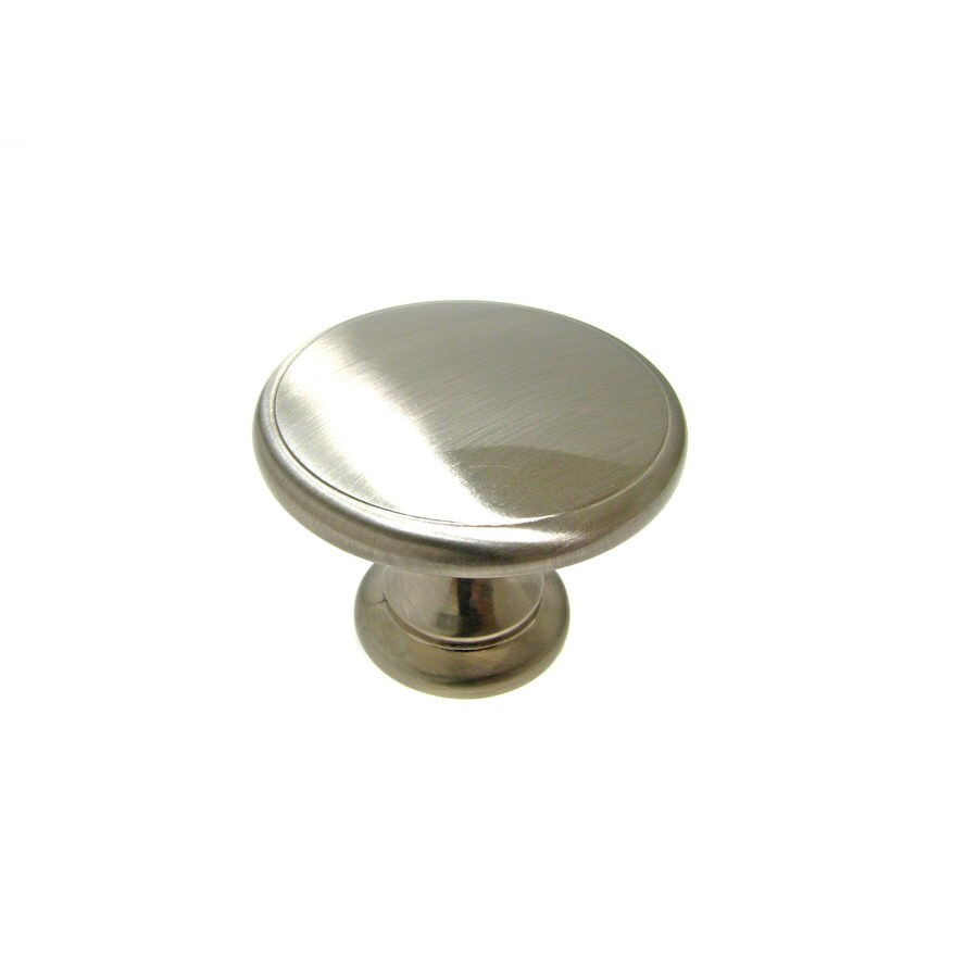 Richelieu Knob Metal 44mm dia. (8/32) Brushed Nickel
