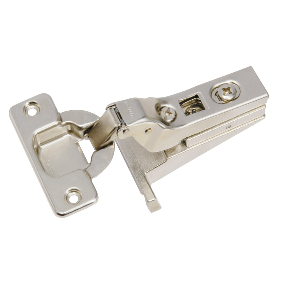 Blum 2-Pack 125mm x 100mm Brushed Nickel Self-Closing Concealed Cabinet Hinge