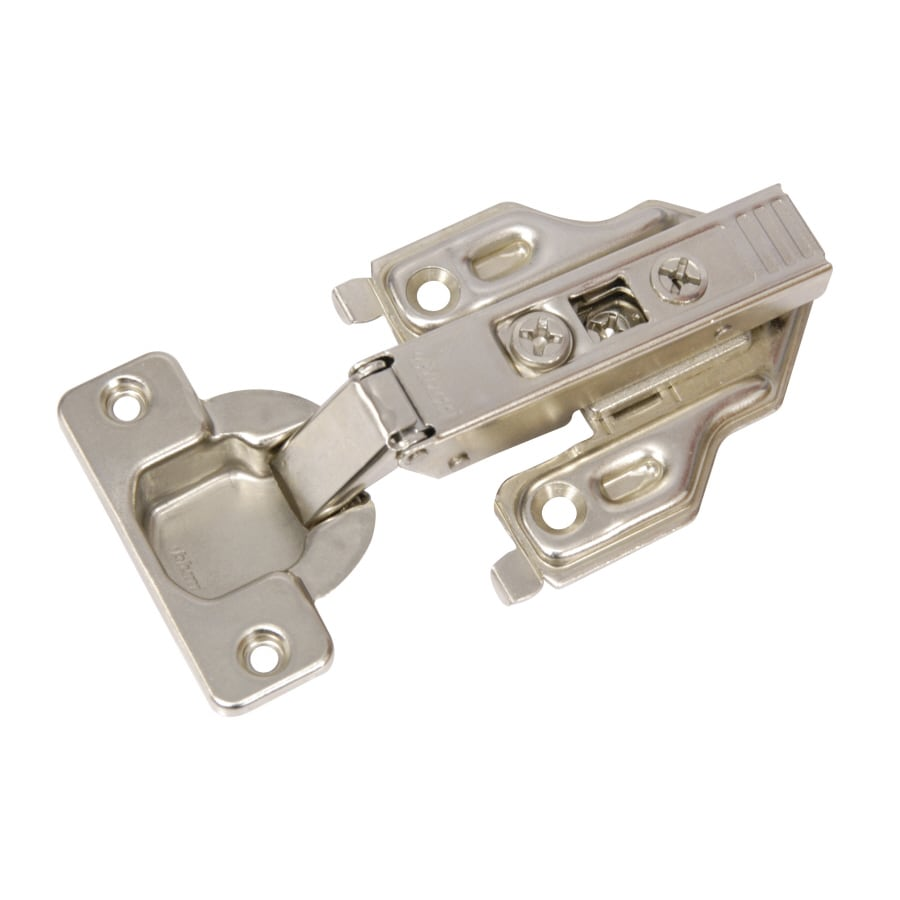 Blum 2-Pack 5-in x 4.50 In. Nickel Plated Concealed Self-Closing Cabinet Hinges