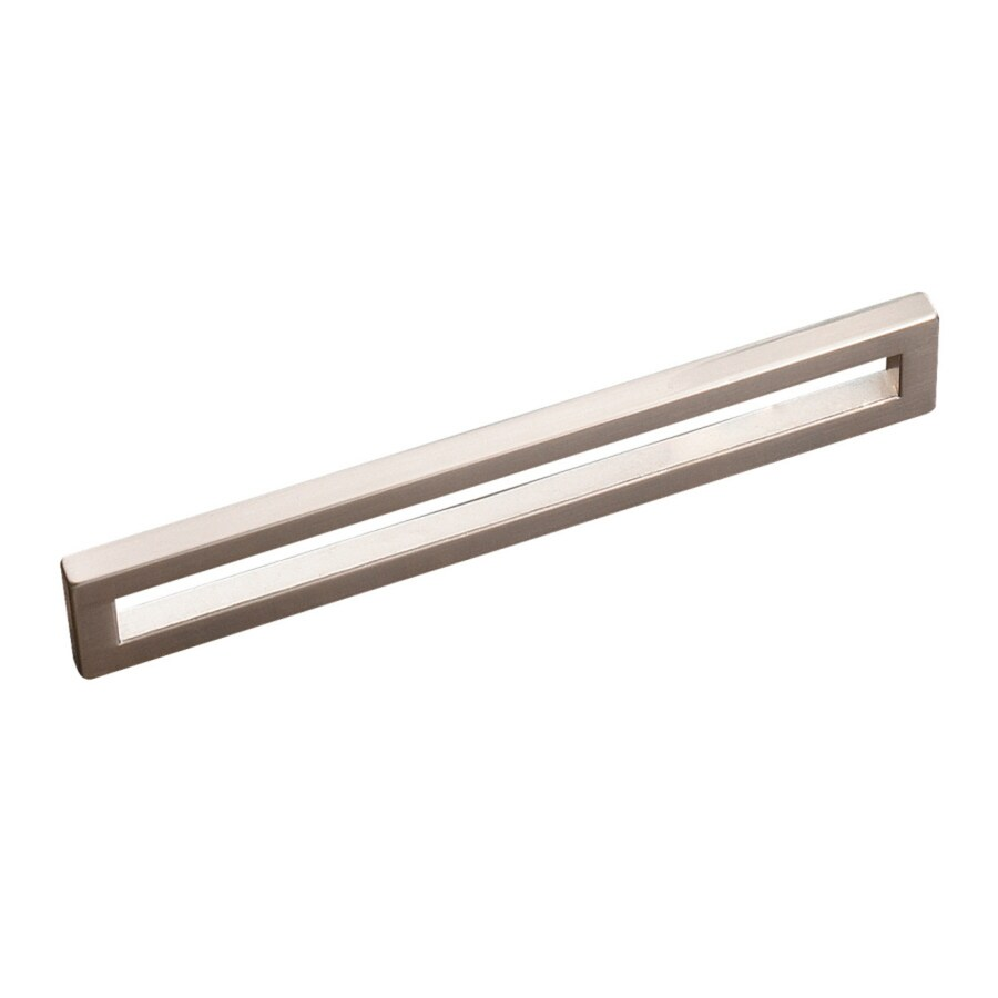 Richelieu 160-mm Center-To-Center Brushed Nickel Rectangular Cabinet Pull