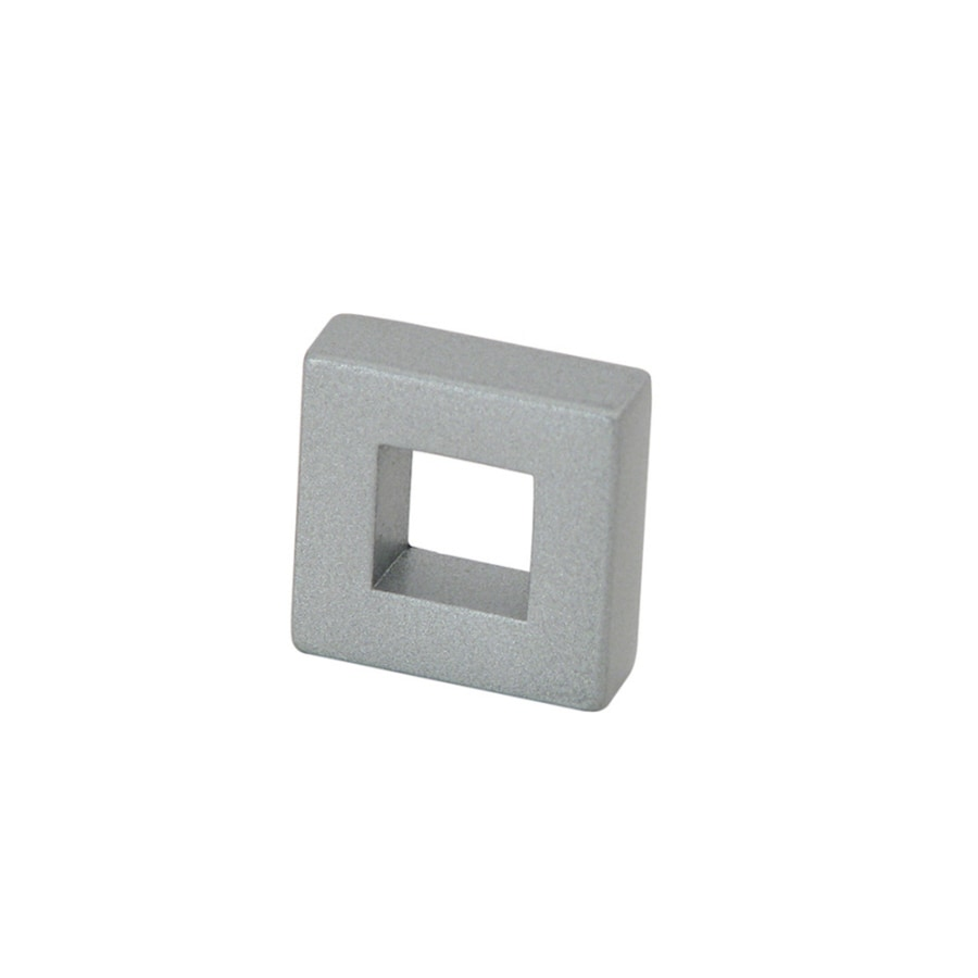 Richelieu Brushed Nickel Square Cabinet Knob