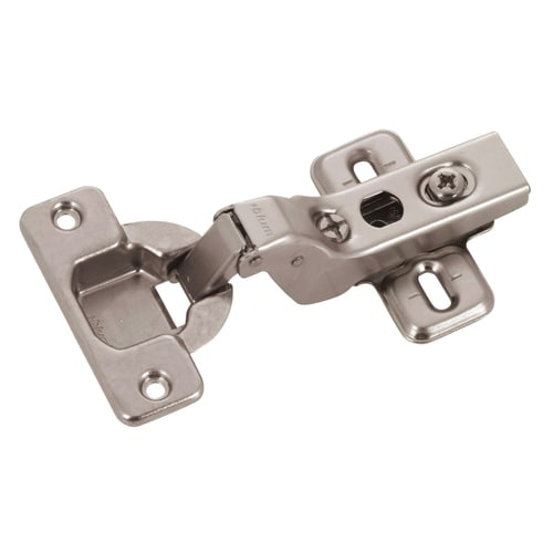 Blum 2 Pack Nickel Plated Self Closing Concealed Cabinet