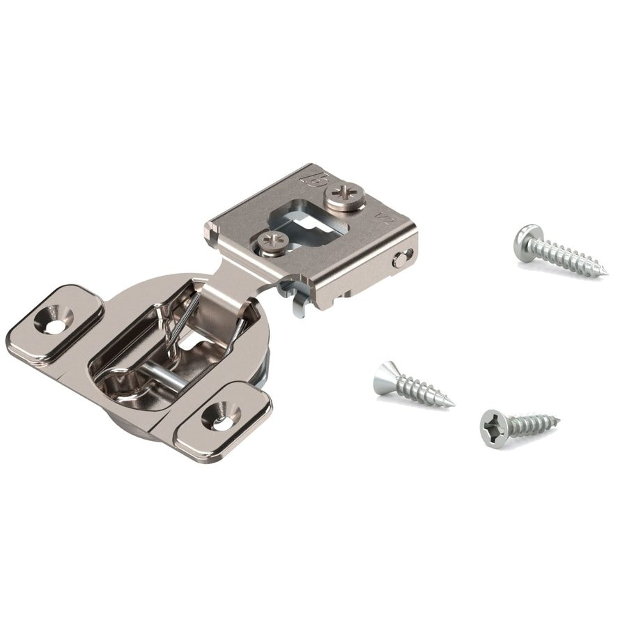 Attrayant Blum 1/2 In Satin Silver Self Closing Concealed Cabinet Hinge