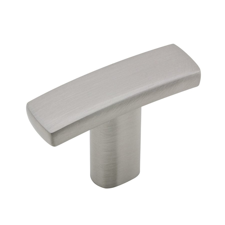 Richelieu Expression Brushed Nickel Rectangular Cabinet Knob