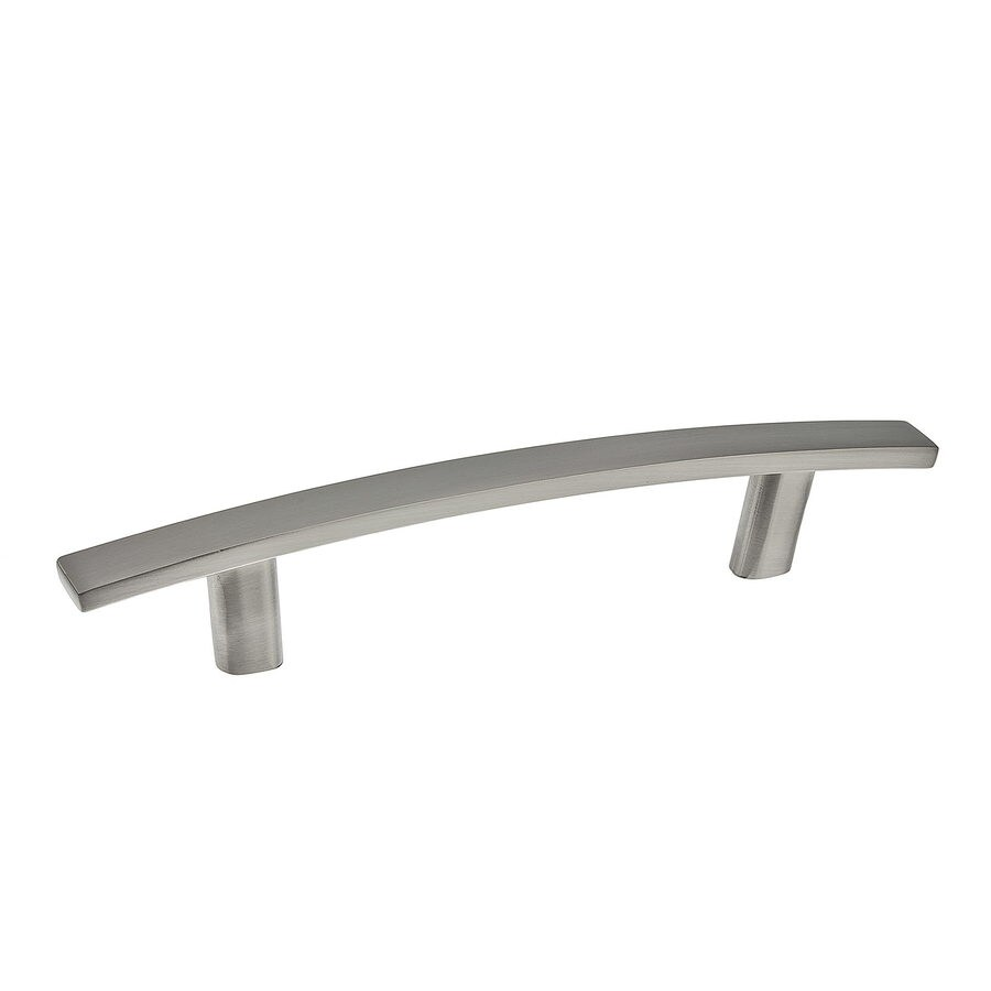 Richelieu 3-7/9-in Center-To-Center Brushed Nickel Expression Arched Cabinet Pull