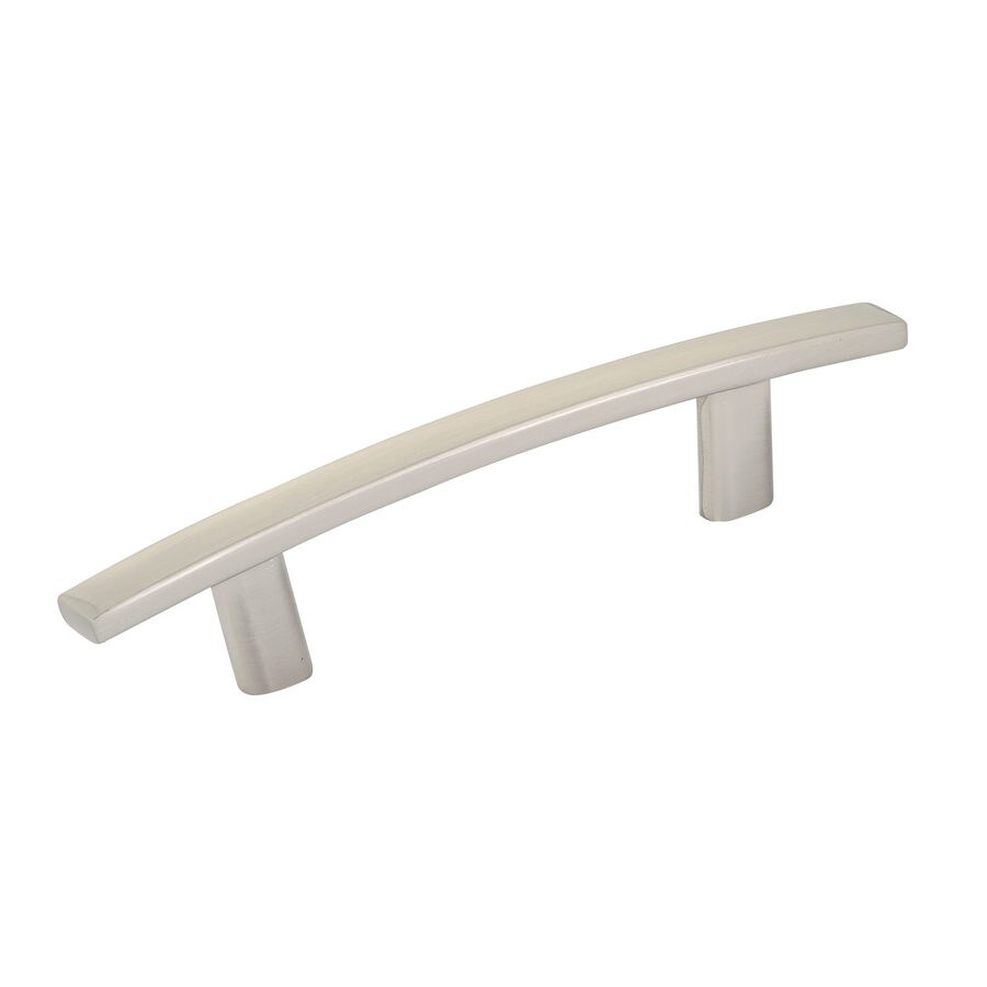 Richelieu 3-in Center-To-Center Brushed Nickel Expression Arched Cabinet Pull