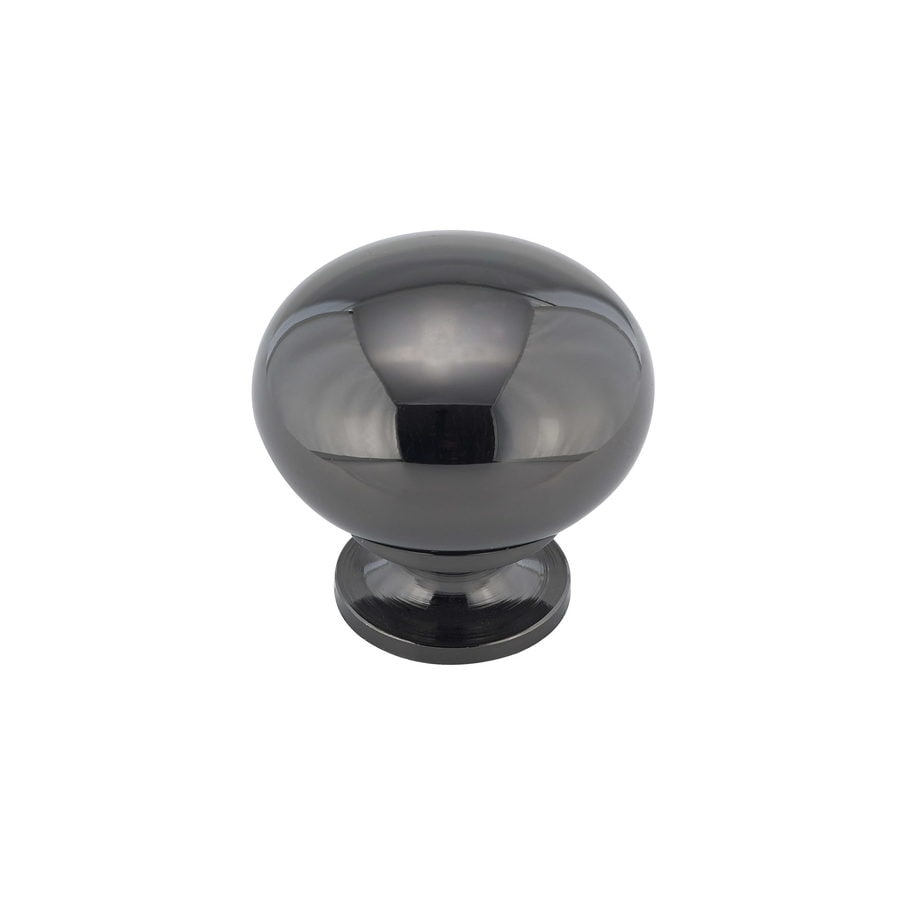 Richelieu Black Nickel Mushroom Cabinet Knob