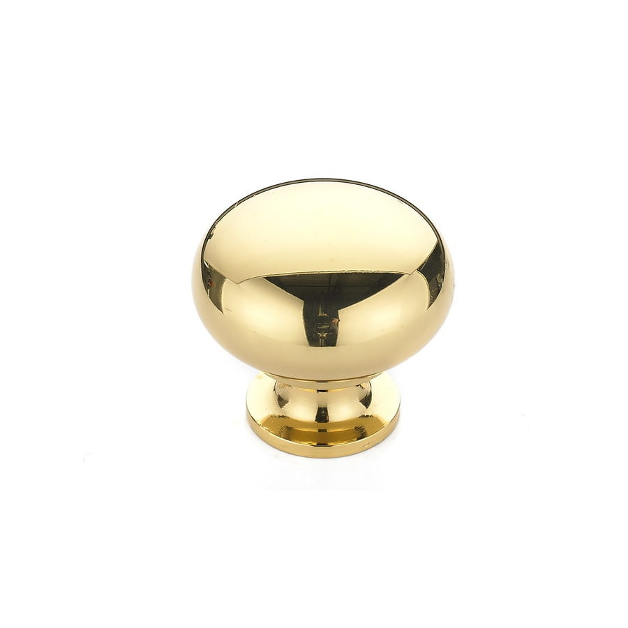 Richelieu Brass Mushroom Cabinet Knob