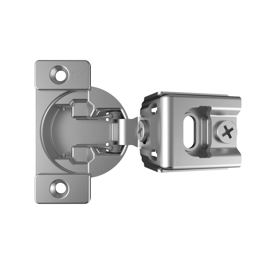 Shop Richelieu 2-Pack 3-7/16-in X 1-1/4-in Nickel Plated Self ...