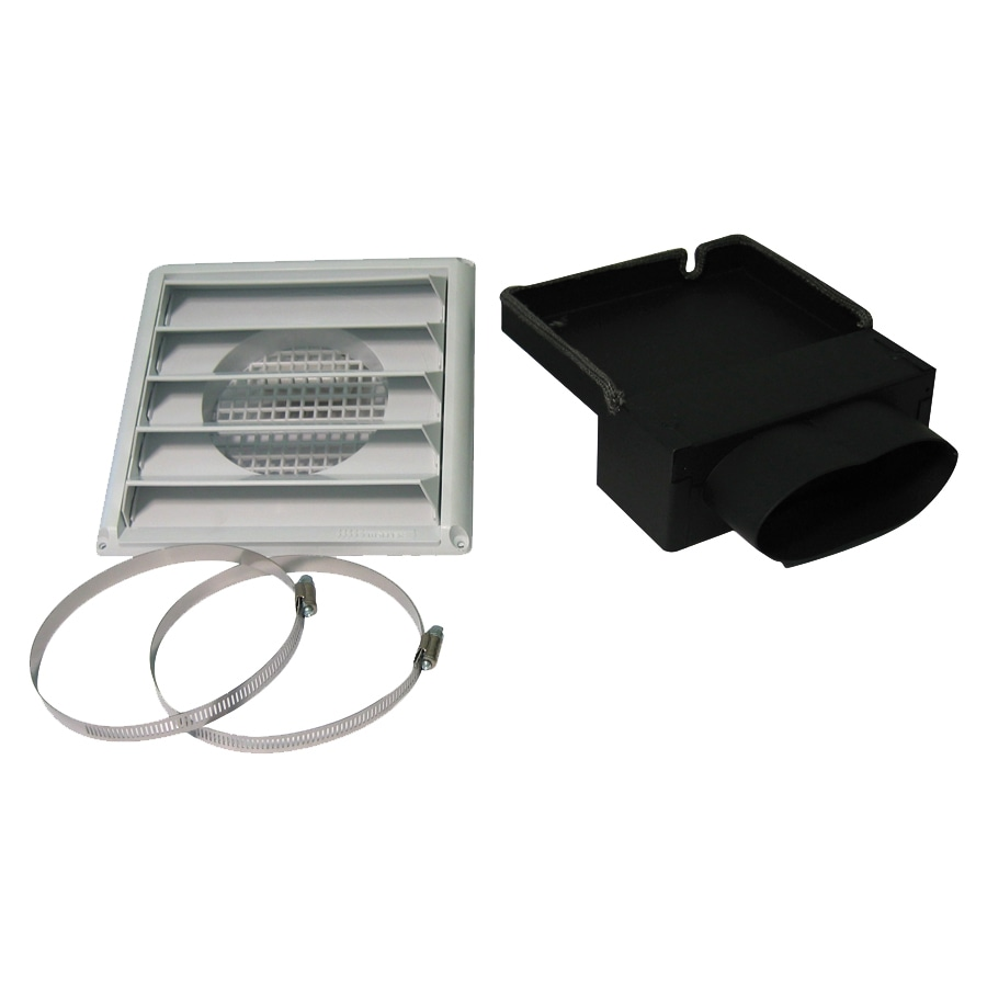 Drolet Black Fresh Air Kit for Wood Stoves