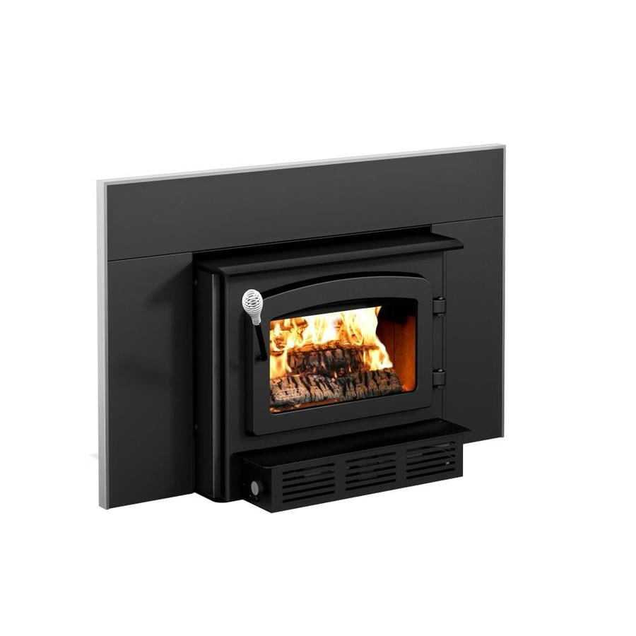 shop drolet 2100 sq ft wood burning stove insert at lowes com rh lowes com Wood-Burning Fireplace Design Wood-Burning Fireplace Design