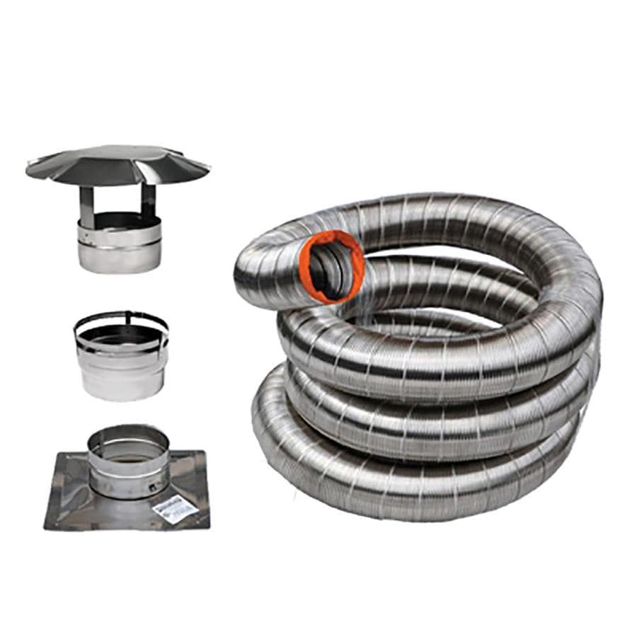 Shop Vortex Stainless Steel Fresh Air Kit At Lowes Com