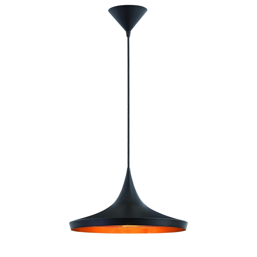 Eurofase 14-in Black Mini Warehouse Pendant