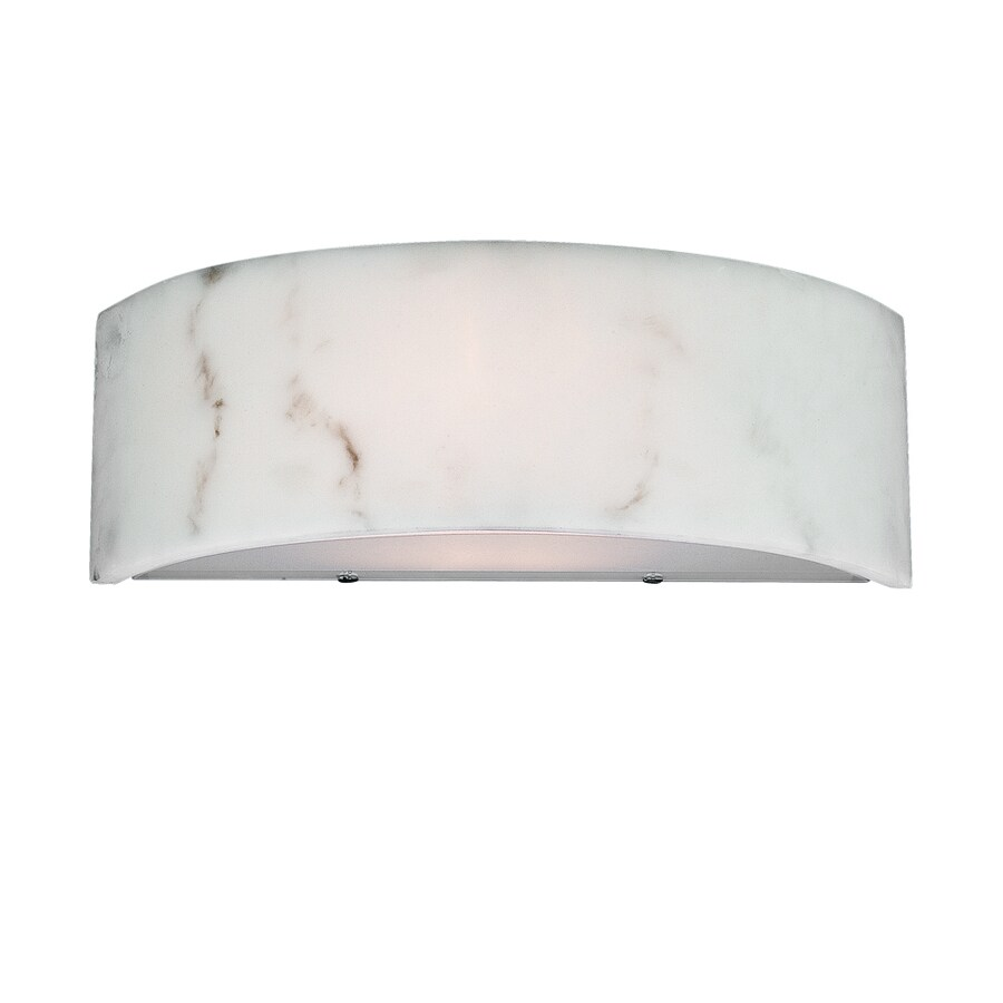 Eurofase Dervish 14-in W 1-Light Frosted Pocket Wall Sconce