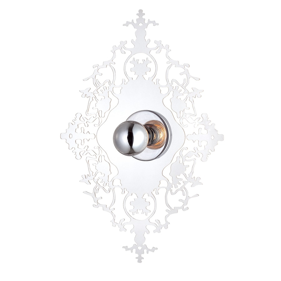 Eurofase 15.25-in W 1-Light Clear Pocket Wall Sconce