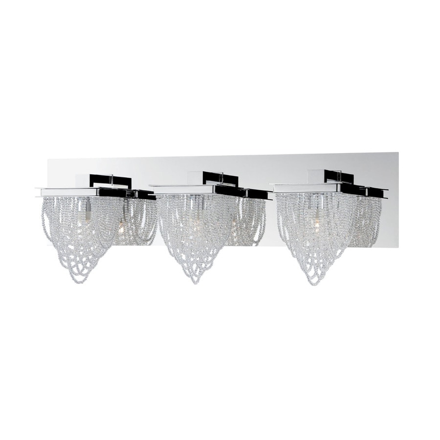 Eurofase Rio 3-Light Chrome Vanity Light