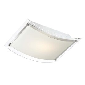 Eurofase 17.5-in Chrome Casual/Transitional integrated Led Flush Mount Light