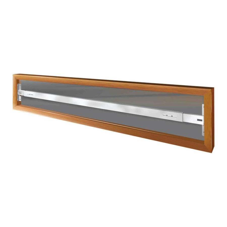 Mr. Goodbar A 64-in White Swing-Away Window Security Bar